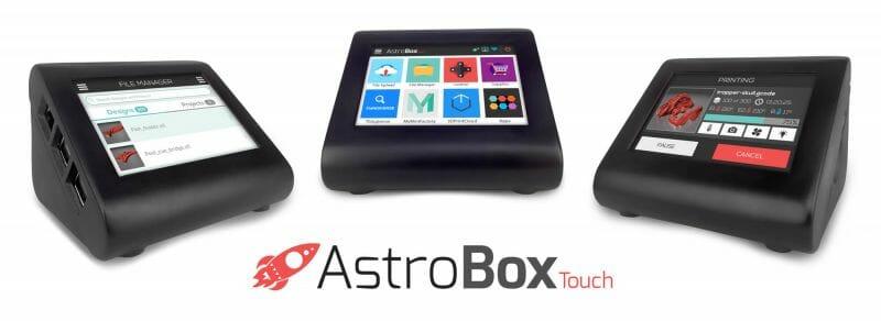 Astrobox Touch, el dispositivo perfecto para controlar tus impresiones 3D
