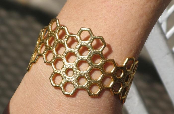 Gold Bracelet 3D printing