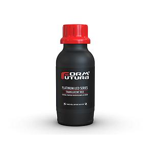 Resina Formfutura Platinum LCD Series - Translucent Red (Rojo) 500 ml
